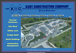 Kent Construction Website